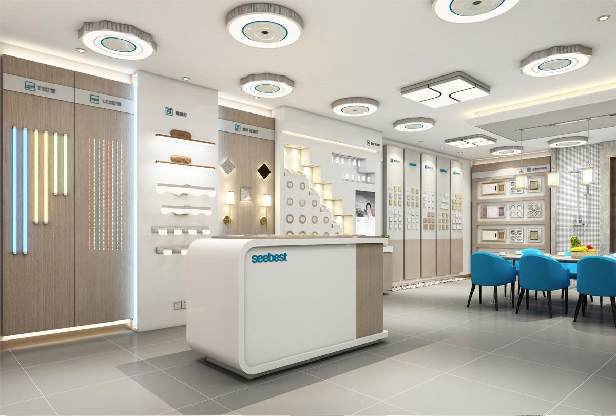 视贝照明品牌形象设计/包装设计/商业空间设计2