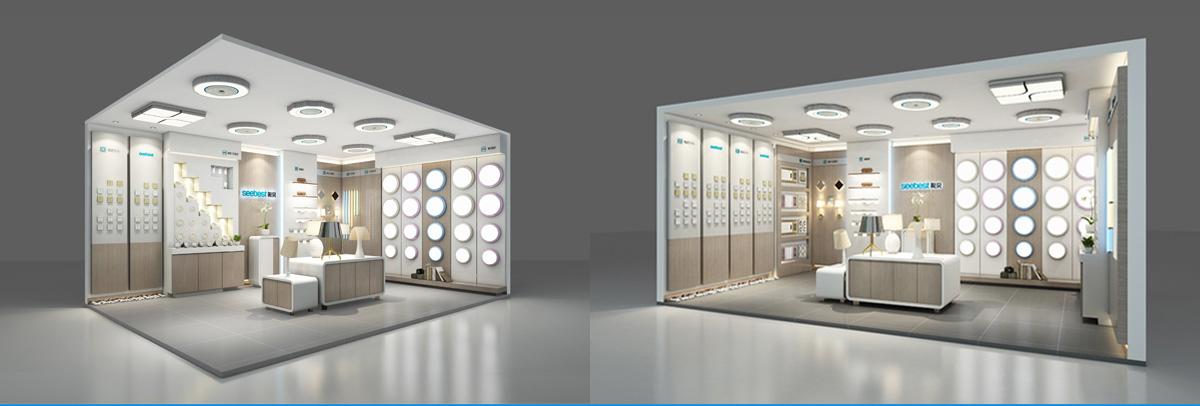 视贝照明品牌形象设计/包装设计/商业空间设计6