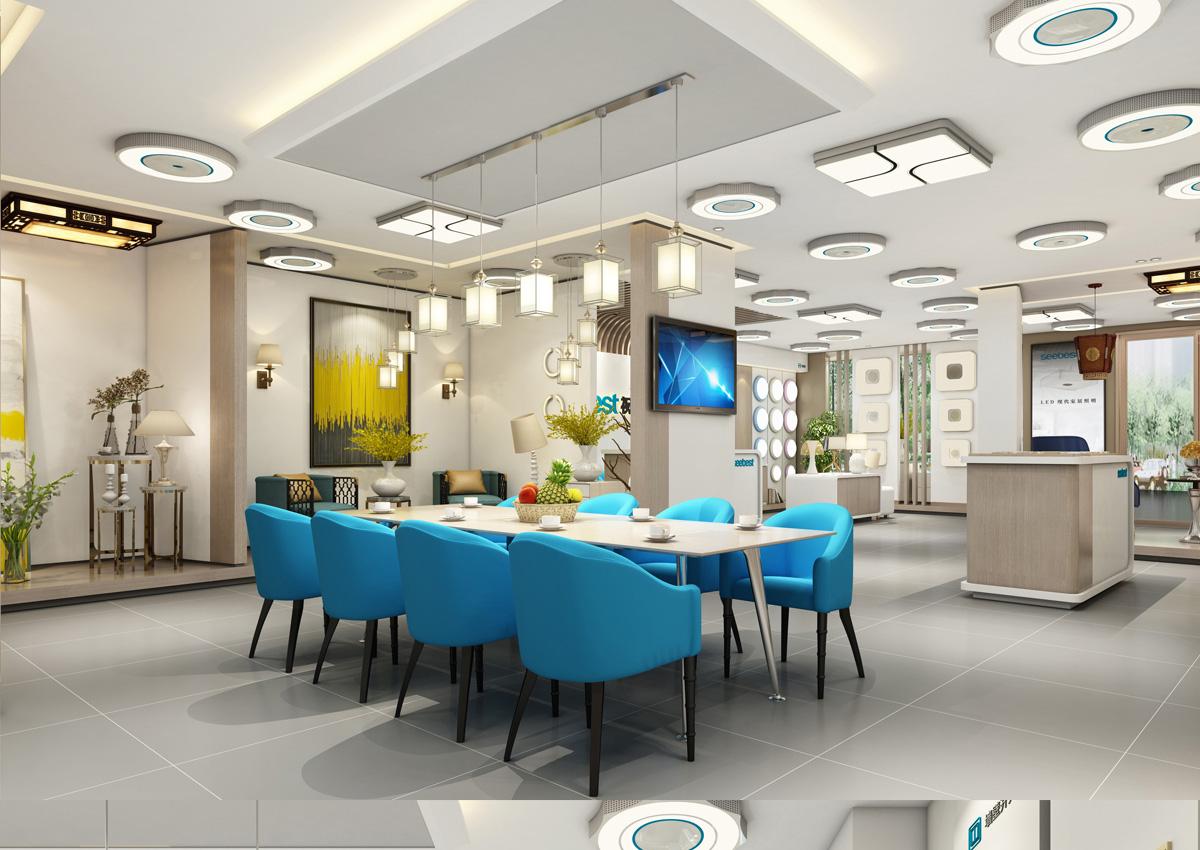 视贝照明品牌形象设计/包装设计/商业空间设计3